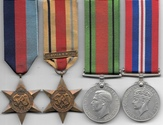 WW2 8th Army Medal Group