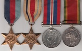 South Africa Star Medal Group