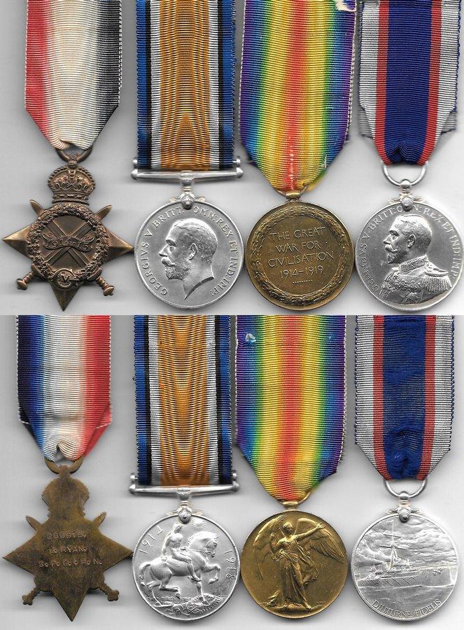 WW1 War Medals For Sale - Nottingham Medals - World War One