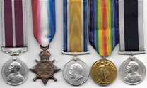 WW1 Royal Navy Meritorious Service Medal