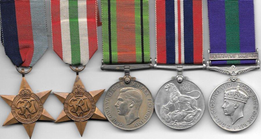 WW2 War Medals For Sale - Nottingham Medals - World War Two