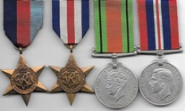 WW2 RAF Boxed France & Germany Star Medal Group