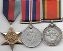WW2 ASM Medal Trio